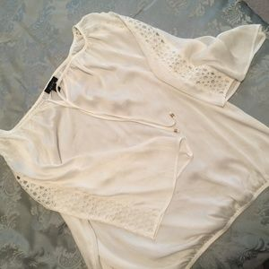 ALYX sheer white top size 2X STUNNING!